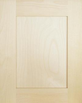 porte shaker en panneau contreplaqu finis bois