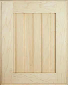 porte shaker en panneau contreplaqu finis bois. Black Bedroom Furniture Sets. Home Design Ideas